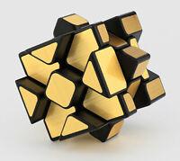 MoYu Fisher Mirror Cube 3x3 - gold Zauberwürfel Speedcube Magic Cube Magische...