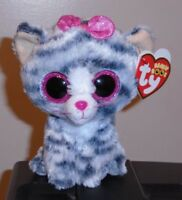 Ty Beanie Boo Boos - WILLOW the Cat (6 Inch)(Justice Exclusive) NEW MWMT