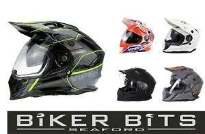 Viper RXV288 Doppel Visier 3 IN 1 Enduro/MX/Adventure Cheap Motorrad 2021 Helm