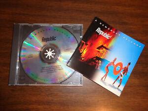 Republic CD Album mit den Titel NewOrder