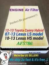 Engine Air Filter For CAMRY HYBRID 12-14 AVALON RAV4  ES300h  HS250h 17801-0V020