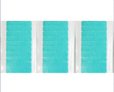 Waterproof Blue Double-sided Tape for Skin Weft Tape Hair Extensions 30tabs