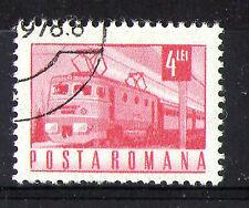 Romania 1971 Locomotiva Elettrica COMMEMORATIVO TIMBRO SG 3854 VFU