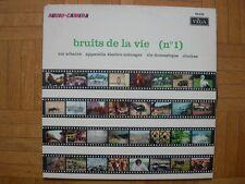 VINYL 33 T – BRUITAGES SOUND EFFECTS – BRUITS DE LA VIE N°1 – URBAINE DOMESTIQUE