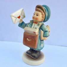 New ListingVintage Hummel Goebel Postman 119 Porcelain Figurine Germany Love Letter Boy