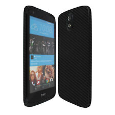 Skinomi TechSkin - Carbon Fiber Skin & Screen Protector for HTC Desire 526