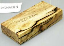 Birke gestockt klar stabilisiert | 120x58x22 | puq stabwood | birch burl 6898