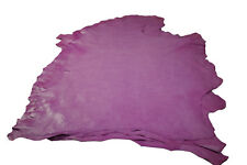 Distressed Pink Sheepskin hides Aniline Nappa leather Soft 0.8 - 1 mm