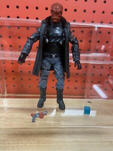 """Marvel Legends Mandroid BAF Series 6"""" Red Skull w/ replacement coat, tesseract"""