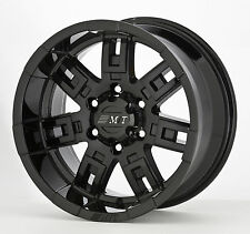 "15x10"" Mickey Thompson -Sidebiter Aluminum Wheel 6-5.5"" Original Style"