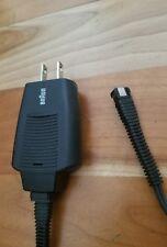 1 Braun 5497 5496 Power Cord Metal Tip 7000 8000 Syncro Charger Plug braun 7526