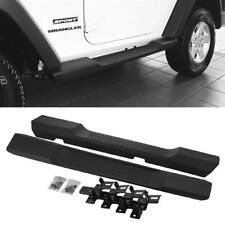 07-18 Jeep Wrangler JK Sport 2DR OE Style Running Board Side Step Nerf Bars Pair