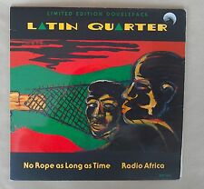"""Latin Quarter, No Rope as Old as Time / Radio Africa dbl 7"""" Arista RH 105"""