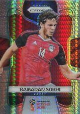 Prizm World Cup 2018 Hyper Parallel Base Card #60 Ramadan Sobhi - Egypt