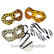 Dozen Animal Print Masks Favor Party Gift Bag Fillers Prize Prizes Assortment 12