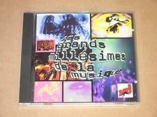 CD RARE / NRJ / LES GRANDS MILLESIMES DE LA MUSIQUE / 1998 / TRES BON ETAT