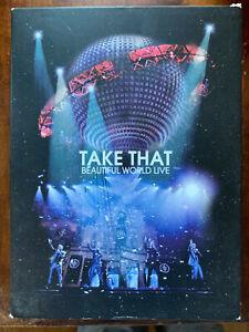 Take That Beautiful World Live DVD British Pop Concert Music UK 2-Disc Digipak