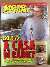 MOTOSPRINT n°50 1993  Piaggio Skipper 125 - Wayne Rainey   [P54]