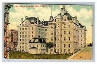 Vintage View of St. Luke's Hospital, New York City NY c1910 Postcard M2