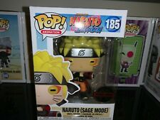 Naruto Sage Mode Naruto Shippuden Exclusive Funko Pop Vinyl Figure Anime #185