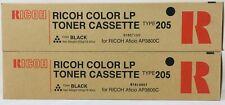 Ricoh 888032 Type 205 Toner Original Black for Aficio Ap 3800C/CL7000/