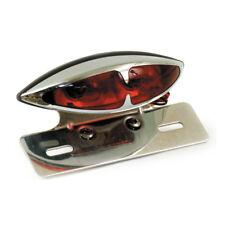Rücklicht L.A. Chrom, rot, mit Halter, für Harley-Davidson mit E - Prüfzeichen!