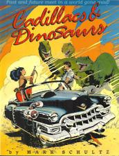 CADILLACS & DINOSAURS - Mark Schultz - aka XENOZOIC TALES - B&W 1989 - 2ND PRINT
