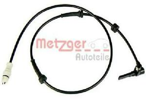 Original metzger Sensor Wheel Speed 0900481 for Fiat