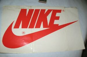 NIKE sticker 80's BIG