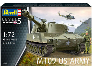Revell - 1/72nd M109 US Army Tank  - #03265