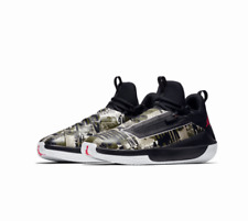 8a3be3480b0 Jordan Jumpman Hustle Men's BB Sneaker | Black/Infrared/Olive Canvas | 11.5  M