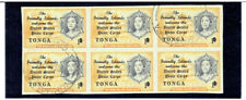 TONGA 1967 Regular Issue Surcharged 1s on 1p FU