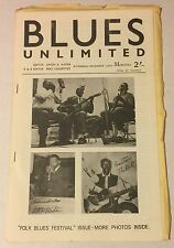 BLUES UNLIMITED 17 November-December 1964 magazine folk blues festivals