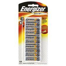 Energizer Advanced AA Batteries 10 Pack 60% longer lasting