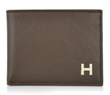 New Tommy Hilfiger Men's Classic Credit Card Id Wallet Billfold Brown 31TL22X019