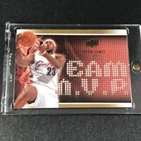 LEBRON JAMES 2008 UPPER DECK #5 TEAM MVP GOLD FOIL INSERT CARD CAVALIERS NBA