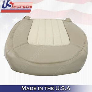 2002 2003 2004 2005 Mercury Mountaineer Driver Bottom Perf. Leather Cover Tan