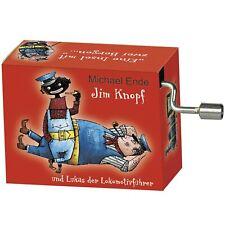 Fridolin 58358 Spieluhr Jim Knopf - Lummerlandlied, rot