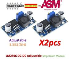 2pcs LM2596 DC-DC Adjustable Voltage Regulator Step Down Power Supply LM2596S