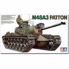Tamiya Model Kit - U.S. M48A3 Patton Tank - 1:35 Scale 35120 New