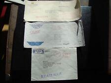 MONDE - 3 enveloppes 1978/1979/1980 (CY98)