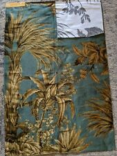 "Pierre Frey Paris ""Palmeto"" Luxurious Designer Showroom Fabric Sample I6609"
