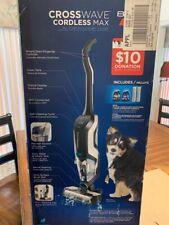 BISSELL CrossWave Cordless Bagless Upright Vacuum Multi-Surface Wet Vacuum