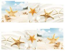 Nail Art Pegatina Agua Calcomanías Traslados conchas de mar playa (DB164)
