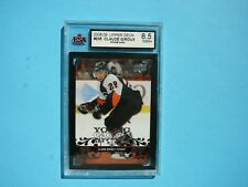 2009/10 UPPER DECK YOUNG GUNS HOCKEY CARD #235 CLAUDE GIROUX ROOKIE KSA 8.5 NMM+