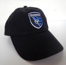 low priced 42ad2 2cd92 San Jose 1974 Earthquakes Quakes Adidas Wells Fargo Hat Cap Black Blue
