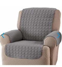 Innovative Textile Solutions Recliner Wing Chair Gray Furniture Protector
