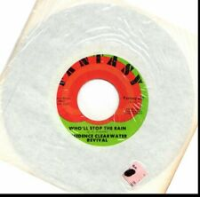 CREEDENCE CLEARWATER REVIVAL WHO'LL STOP THE RAIN/TRAVELIN' BAND 45RPM VINYL