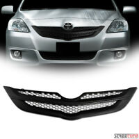 For 07-09 Yaris Sedan Matte Blk OE Honeycomb Mesh Front Grill Grille Replacement