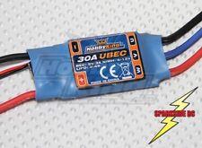 30A Hobbyking Electronic Speed Controller ESC for plane - 3A BEC 2s - 4s - UK